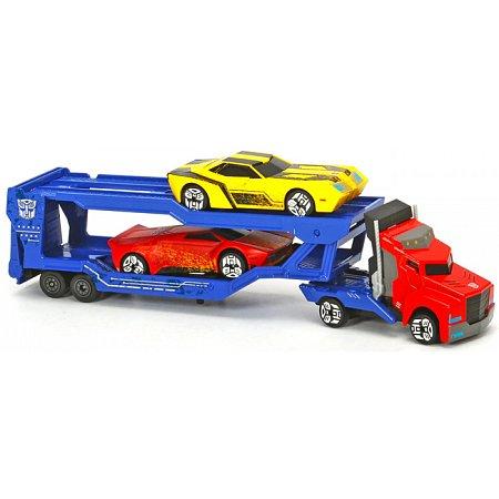 Автотранспортер металлический Оптимус Прайм, Dickie Toys, 311 3012