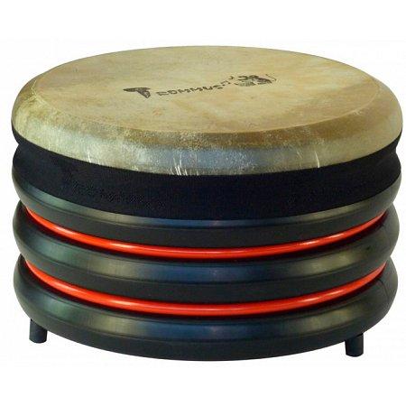 Барабан из натуральной кожи (21 x 34 см), красный, Trommus, D1u
