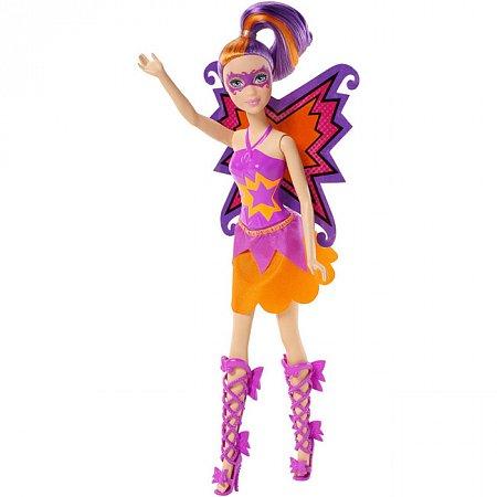 Барби Помощница супергероини, Суперпринцесса, кукла в розовом костюме. Barbie. Mattel, в розовом костюме, CDY65-2