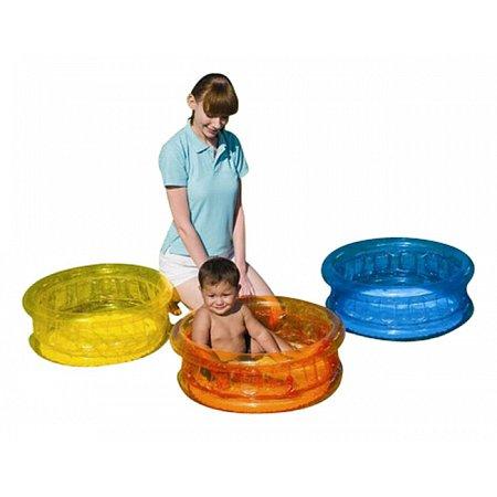 Бассейн детский с мягким дном Малыш, Bestway 51112 (64x64x25 см)