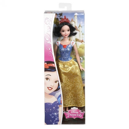 Белоснежка, Принцесса Disney Сияющая, Mattel, Белоснежка, CFB82-6