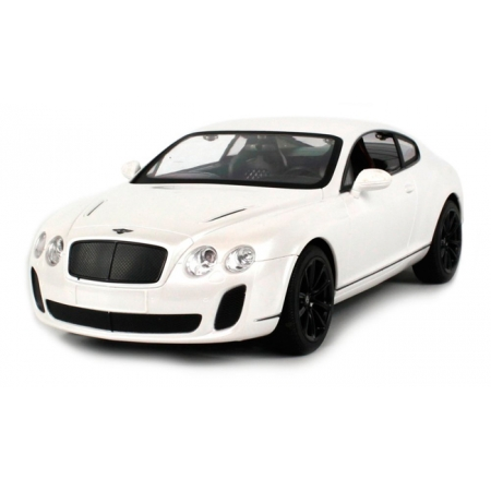 Bentley GT Supersport автомобиль на радиоуправлении 1:14, MZ Meizhi, білий, 2048-8