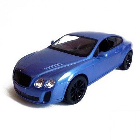 Bentley GT Supersport автомобиль на радиоуправлении 1:14, MZ Meizhi, синій, 2048-6
