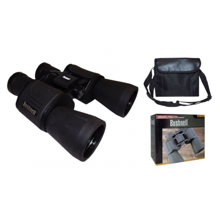 Бинокль BUSHNELL 20х50 TY-0018 (пластик, стекло, PVC-чехол) AXT1138
