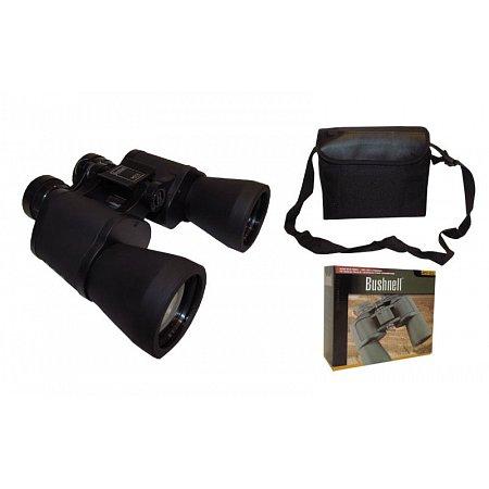Бинокль BUSHNELL 20х50 TY-2702 (пластик, стекло, PVC-чехол)
