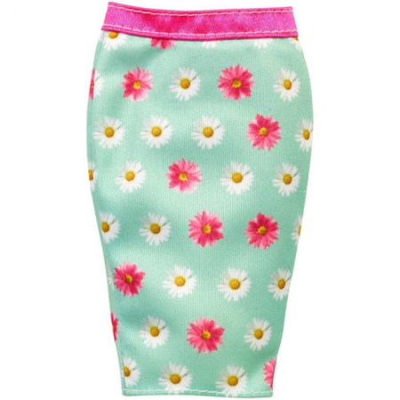Бирюзовая юбка-карандаш для Барби, Стильные комбинации, Barbie, Mattel, бирюзовая юбка-карандаш, CFX73-3