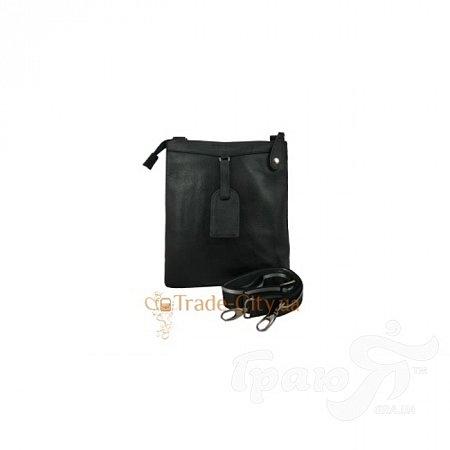 Борсетка мужская кожаная TESORA (ТЕСОРА) W151-1-black