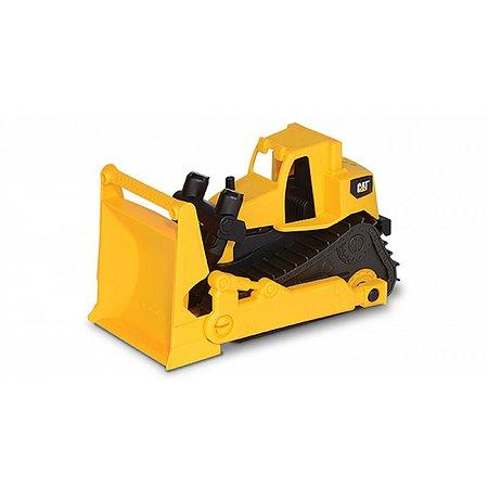 Бульдозер CAT. Мини-строительная техника 17 см. Toy-State, 82012