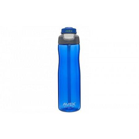 Бутылка для воды спортивная AVEX 71884 WELLS WWB 100 A01 (750 мл, тритан, силикон, синий)