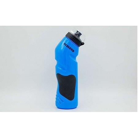 Бутылка для воды спортивная FI-5166-B 750мл LEGEND (PE, силикон, синий)
