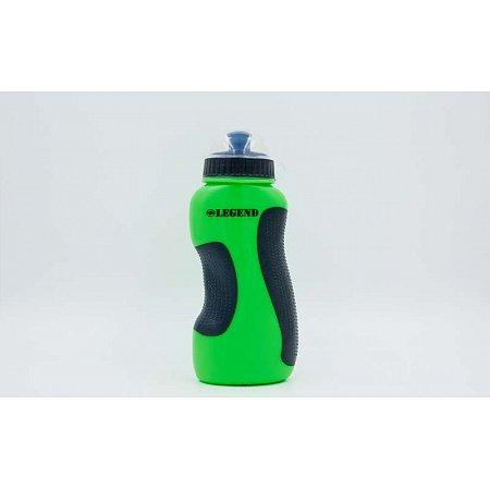 Бутылка для воды спортивная FI-5167-GN 500мл LEGEND (PE, силикон, зеленый)