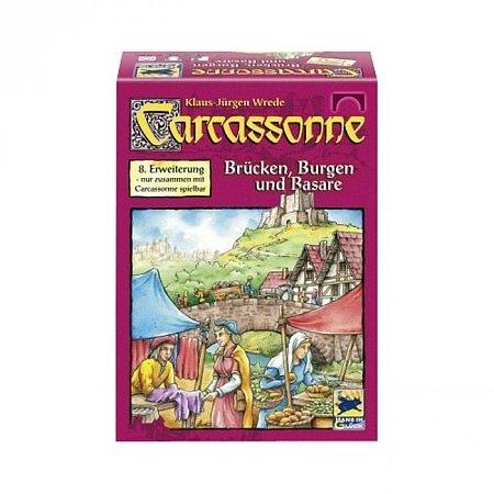 Carcassonne Brucken, Burgen & Basare (Каркассон. Мосты, замки и базары, немецкое издание)