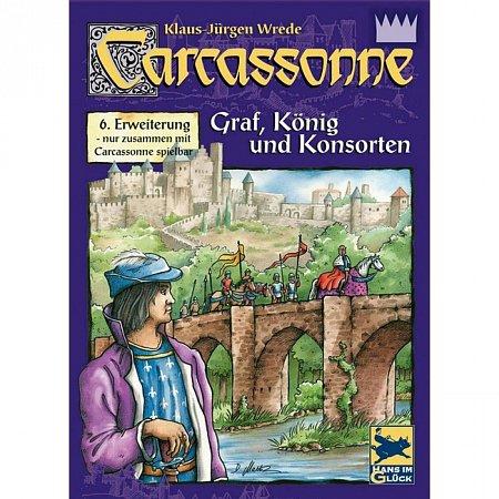 Carcassonne Graf, Konig & Konsorten (Каркассон. Граф, Король и Священник, немецкое издание)