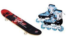 Ролики, скейтборды