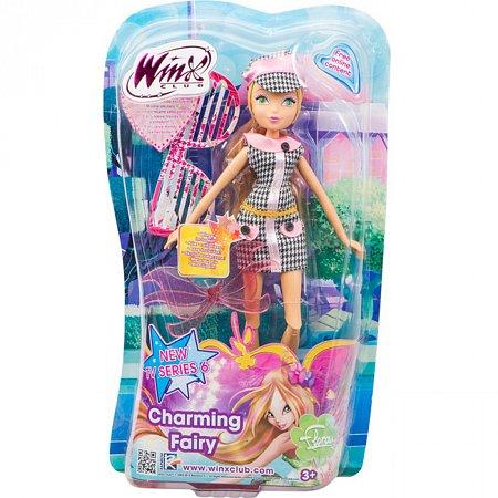 Charming Fairy, Волшебная фея Флора, кукла 27 см. WinX, IW01011402