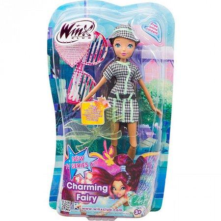 Charming Fairy, Волшебная фея Лейла, кукла 27 см. WinX, IW01011405