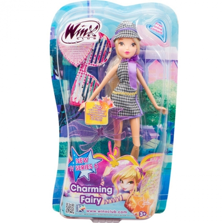 Charming Fairy, Волшебная фея Стелла, кукла 27 см. WinX, IW01011403