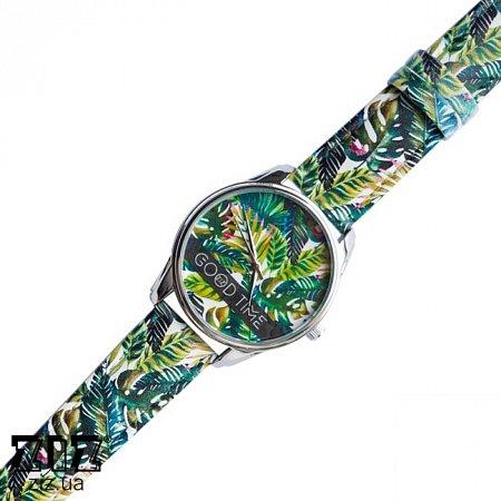 Часы наручные Арт Пальмовые листья, ZIZ-1512330