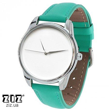 Часы наручные (маленькие) Минимализм бирюзовый, ZIZ-1400008