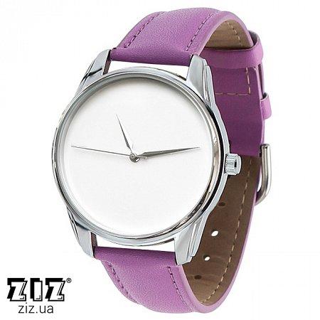 Часы наручные (маленькие) Минимализм фиолетовый, ZIZ-1400014