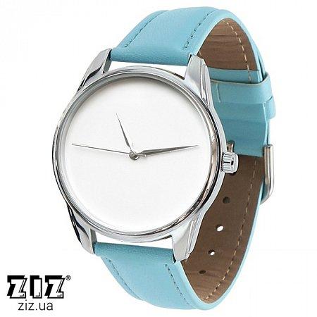 Часы наручные (маленькие) Минимализм голубой, ZIZ-1400010