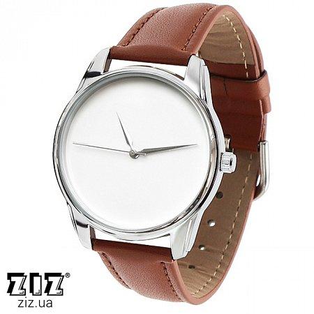 Часы наручные (маленькие) Минимализм коричневый, ZIZ-1400003