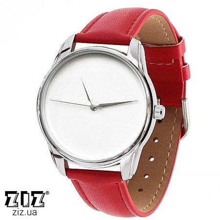 Часы наручные (маленькие) Минимализм красный, ZIZ-1400012