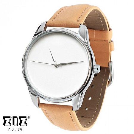 Часы наручные (маленькие) Минимализм кремовый, ZIZ-1400005