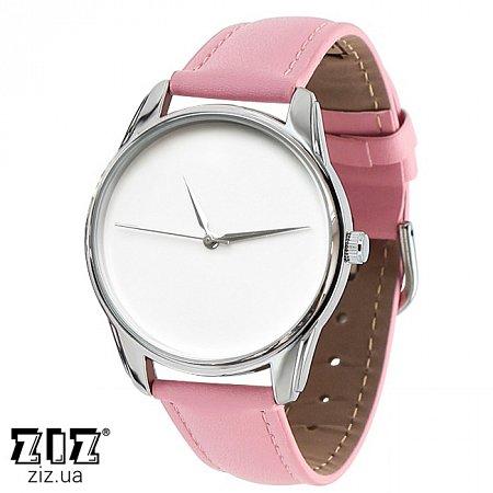 Часы наручные (маленькие) Минимализм розовый, ZIZ-1400013