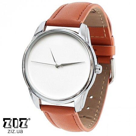 Часы наручные (маленькие) Минимализм рыжий, ZIZ-1400004