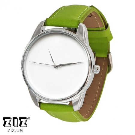 Часы наручные (маленькие) Минимализм салатовый, ZIZ-1400007