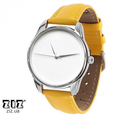 Часы наручные (маленькие) Минимализм желтый, ZIZ-1400006