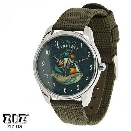 Часы наручные (нейлоновый ремешок) Cтранник, ZIZ-1713434