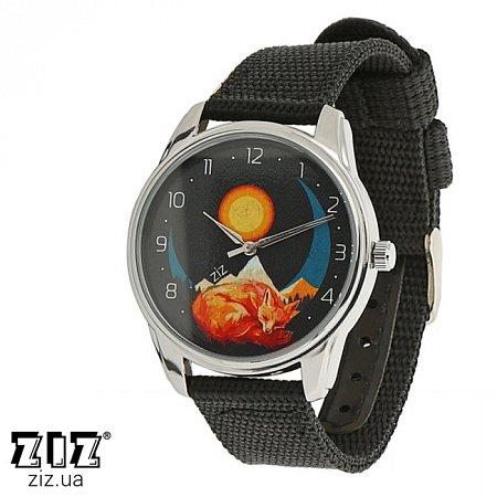 Часы наручные (нейлоновый ремешок) Лис, ZIZ-1713835