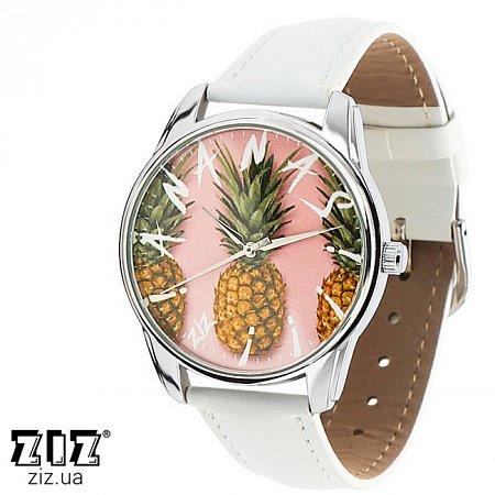 Часы наручные с рисунком Ананас, ZIZ-1412702
