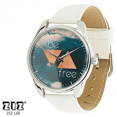 Часы наручные с рисунком Будь свободным, ZIZ-1413002