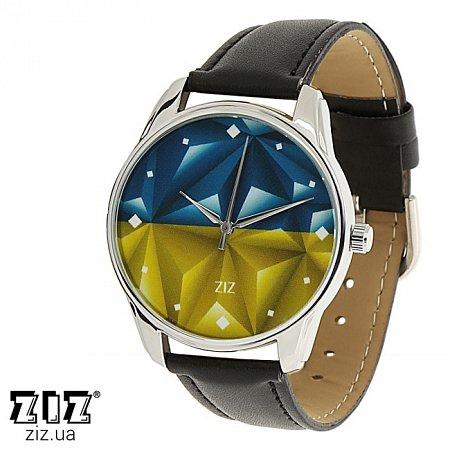 Часы наручные с рисунком Флаг треугольники, ZIZ-1415901