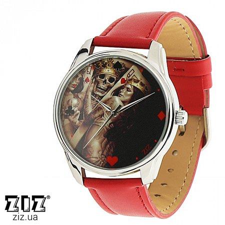 Часы наручные с рисунком Игра красный, ZIZ-1412412