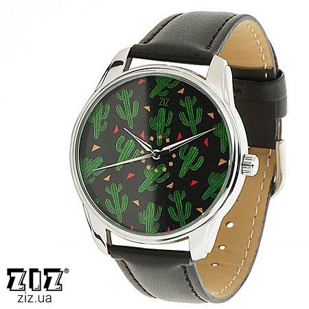 Часы наручные с рисунком Кактусы, ZIZ-1413301