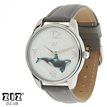 Часы наручные с рисунком Кит, ZIZ-1413711