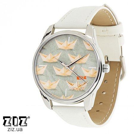 Часы наручные с рисунком Кораблики, ZIZ-1413602