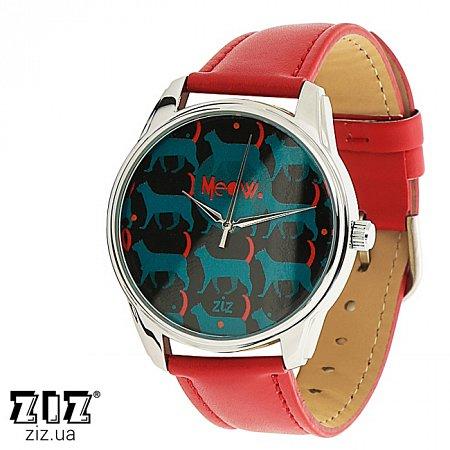 Часы наручные с рисунком Котяки, ZIZ-1415212