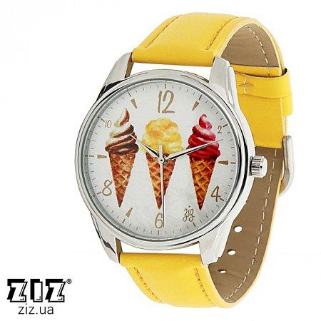 Часы наручные с рисунком Мороженое, ZIZ-1414706