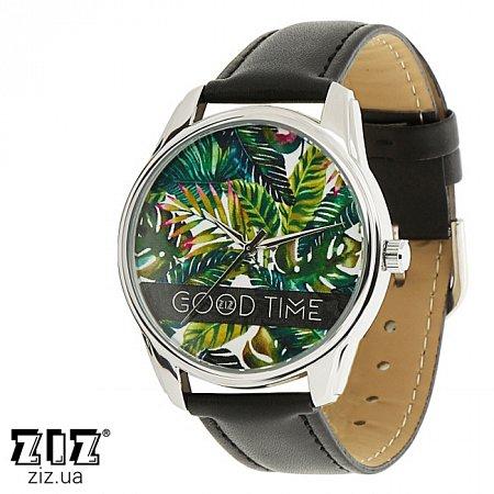 Часы наручные с рисунком Пальмовые листья, ZIZ-1412301
