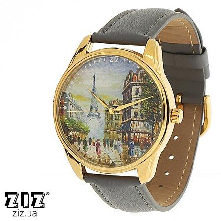 Часы наручные с рисунком Париж, ZIZ-1414211