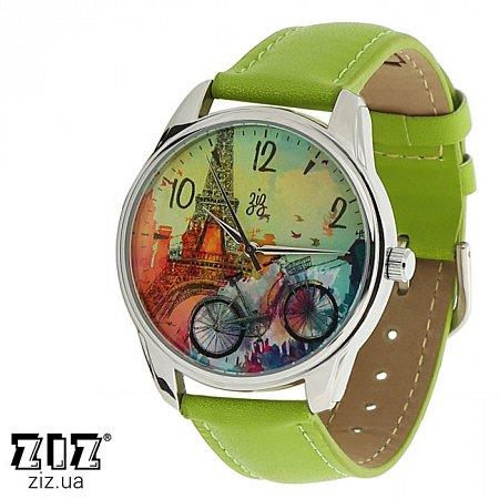 Часы наручные с рисунком Парижское настроение, ZIZ-1414007