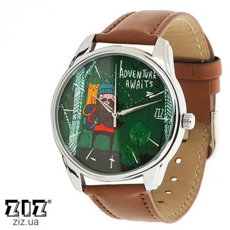 Часы наручные с рисунком Приключения ждут!, ZIZ-1412903