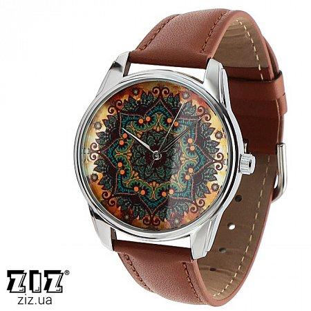 Часы наручные с рисунком Золотые узоры, ZIZ-1402803