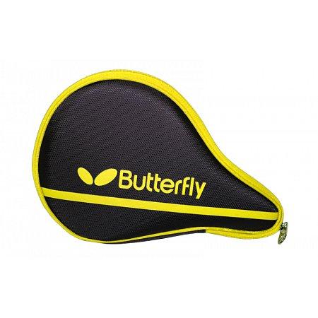 Чехол для ракетки настольного тенниса BUTTERFLY 62140085 NAKAMA (PL,черно-желтый, р-р 30х3х19см)