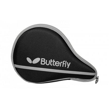 Чехол для ракетки настольного тенниса BUTTERFLY 62140280 NAKAMA (PL,черно-серый, р-р 30х3х19см)